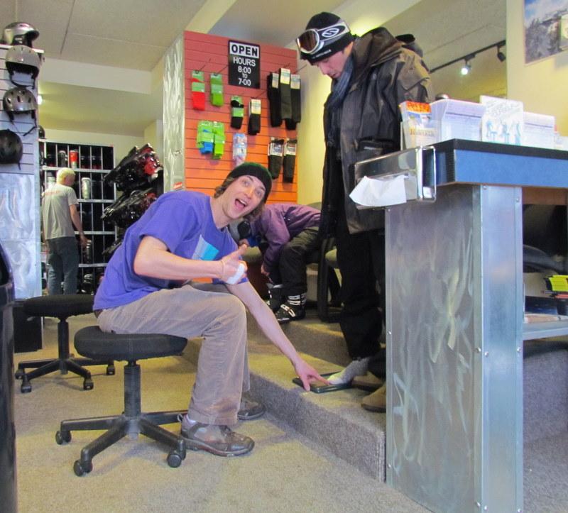 Ski Boot Fitting Park City
