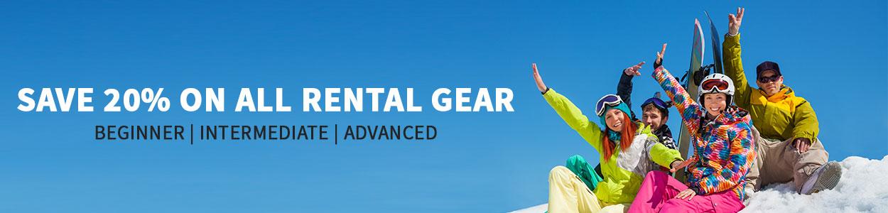 Ski & Snowboard Online Rentals